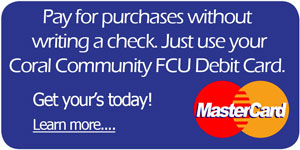 Pay for purchases without writing a check. Just use your debit card.