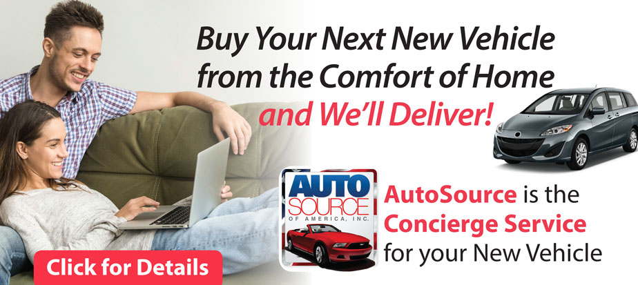AutoSource is the  Concierge Service  for your New Vehicle