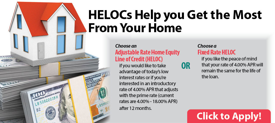 HELOCs help you get the most from your home