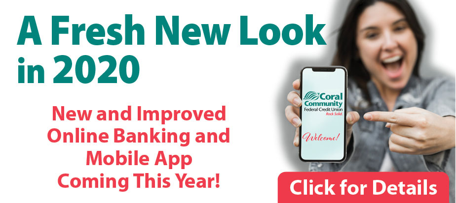 A fresh new look for mobile and online banking coming in 2020
